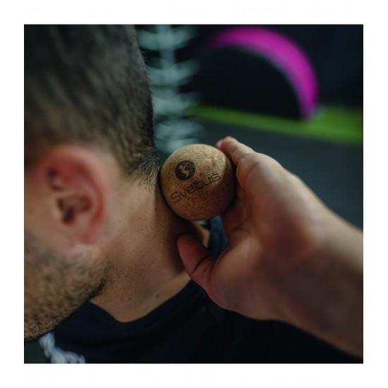 Balle de massage liège Ø6,5 cm