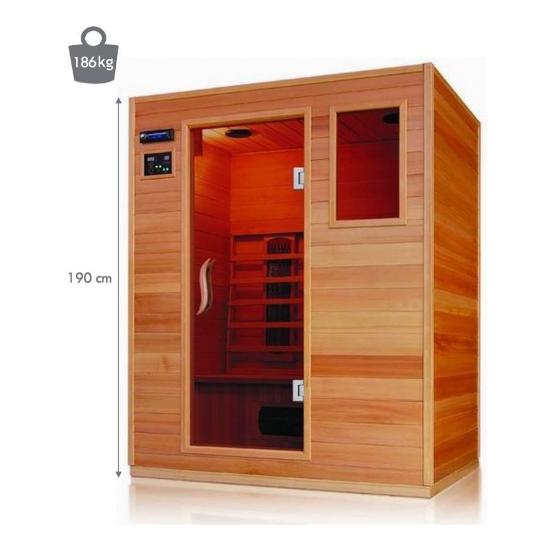 Sauna à infrarouges...